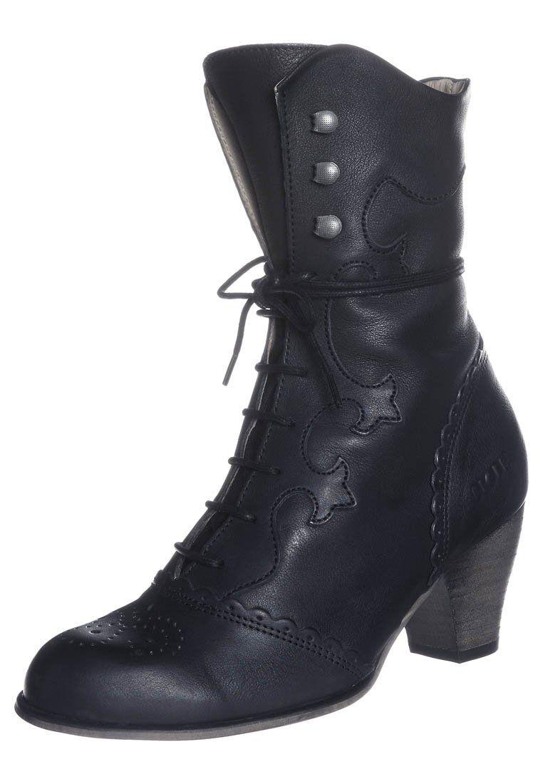 Cheap Womens Lace Up Ankle Boots Schwarze Stiefel Schnürstiefeletten Schuhe Und Socken