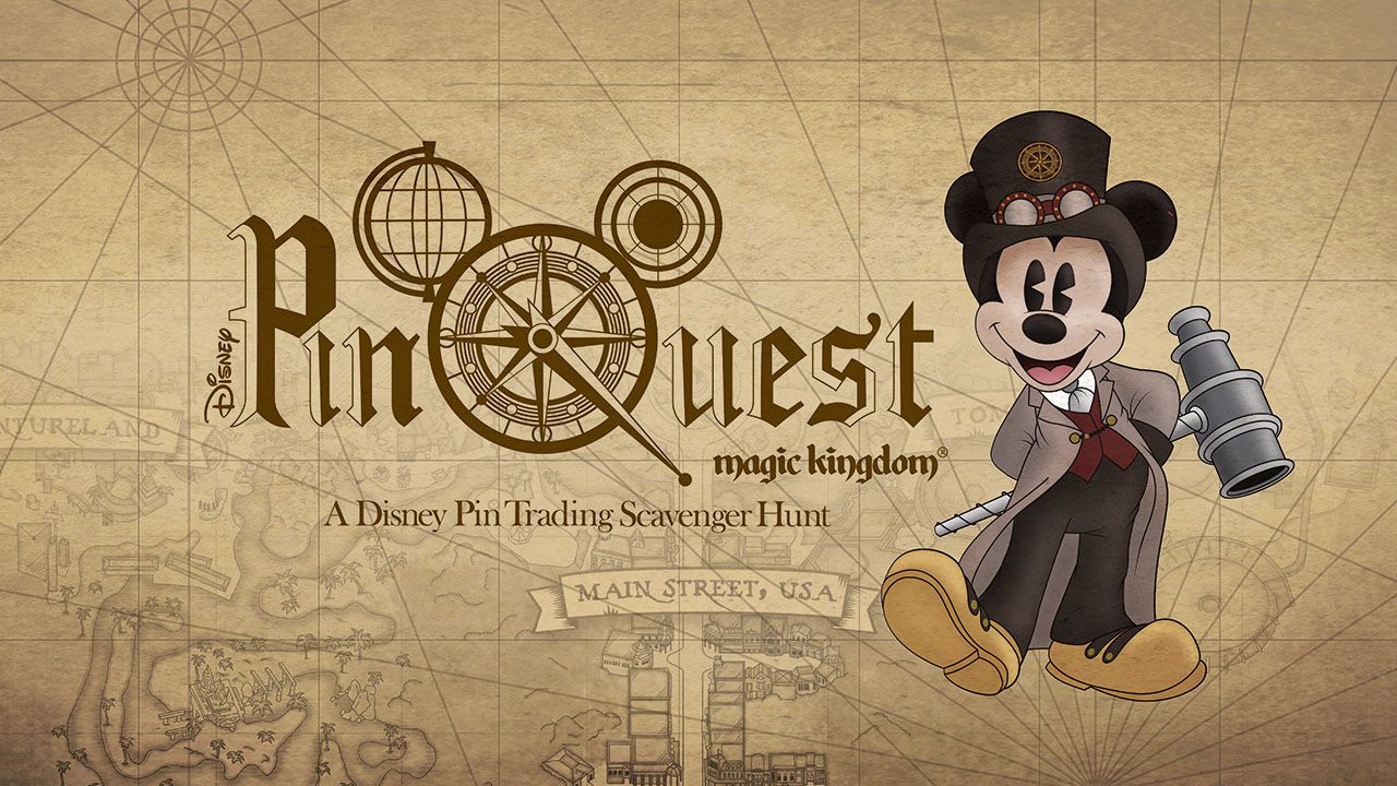 PinQuest Coming To The Magic Kingdom