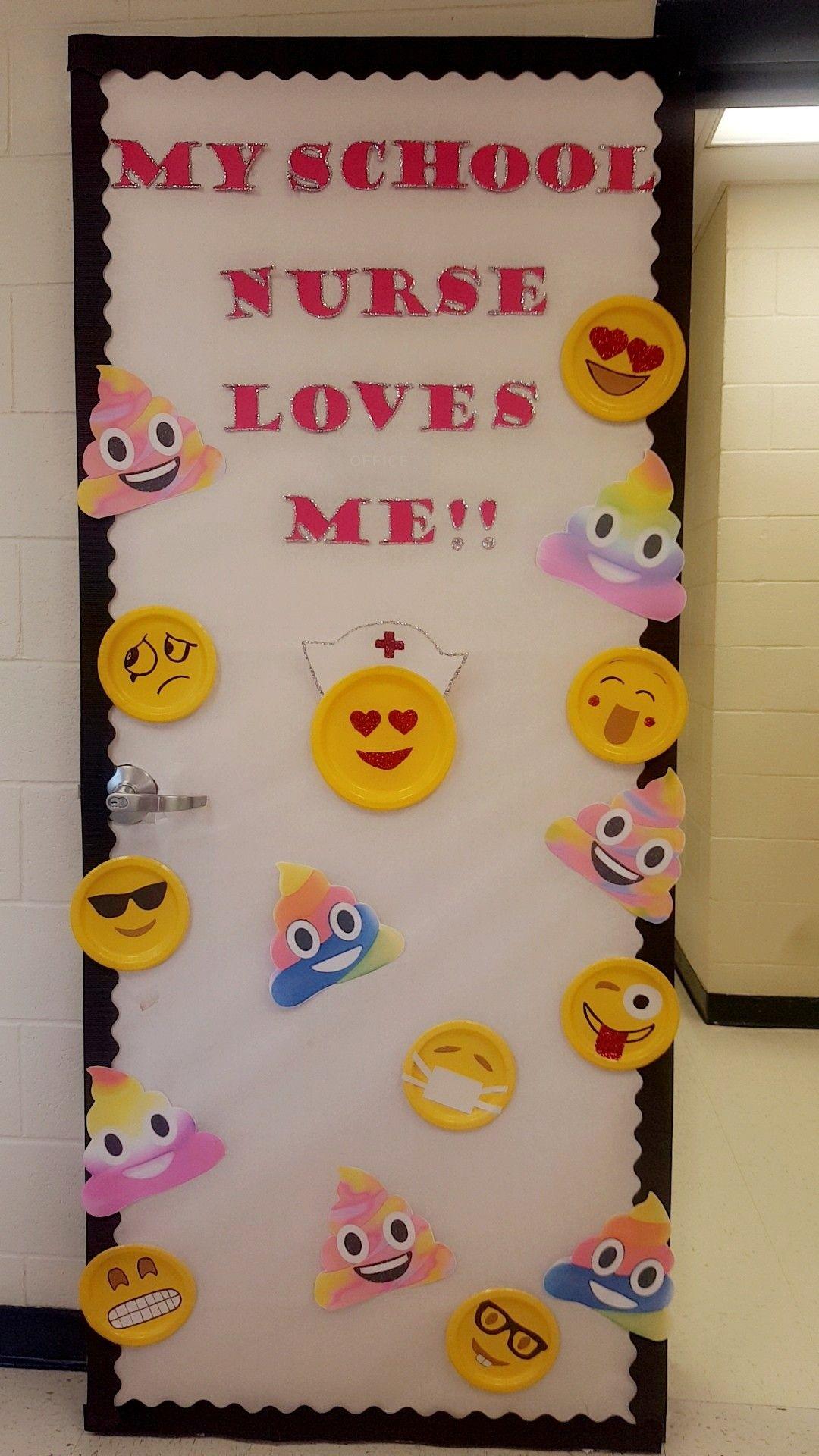 Pin by Michelle Cortez on school nurse School nurse door