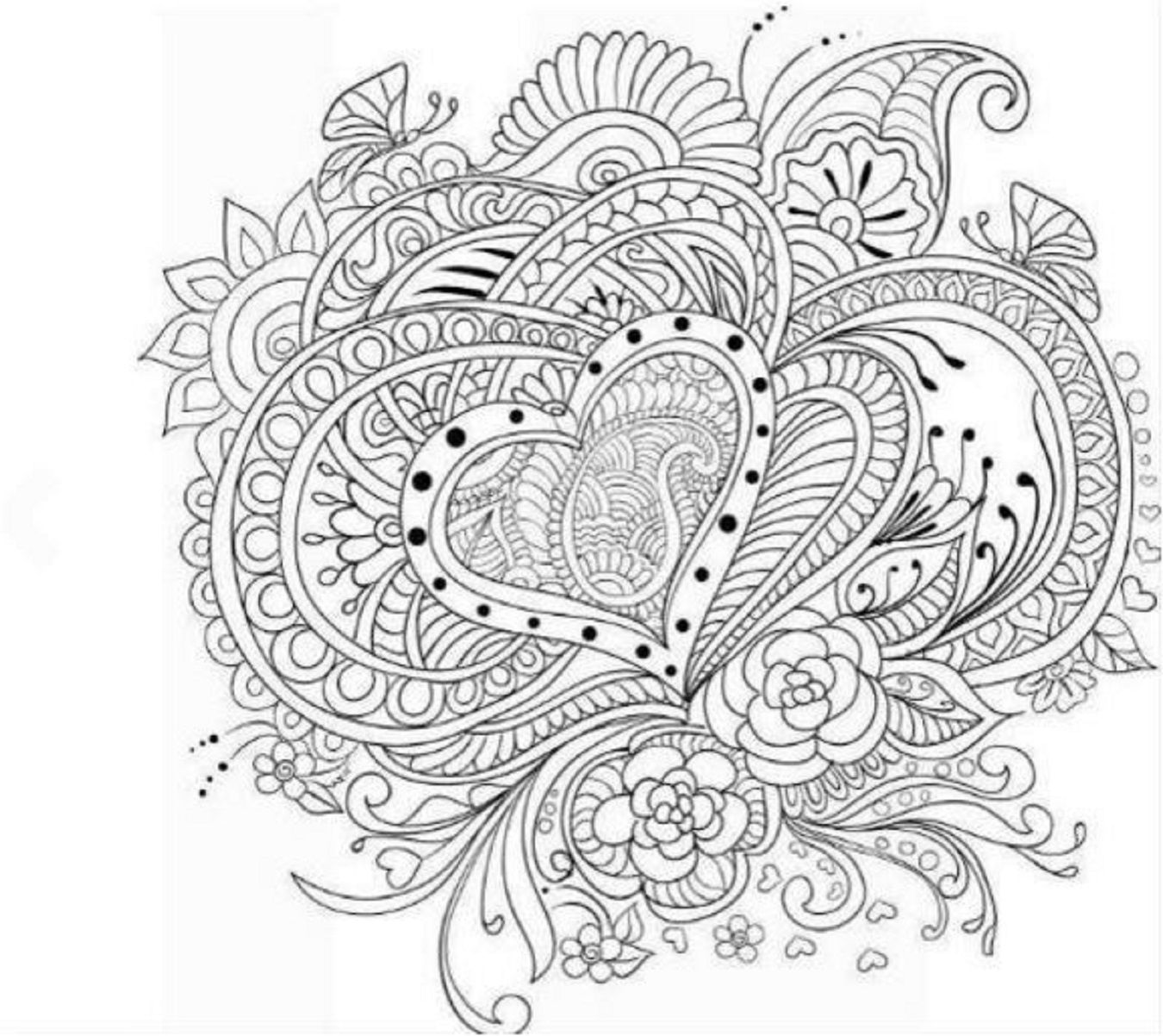 Coloring book color of art - Adults Coloring Book Art Love Heart Stress Relief Designs Color Fun Patterns