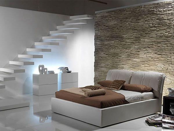 Camera letto parete pietra google search bedroom - Parete in pietra camera da letto ...