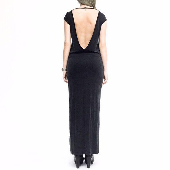 Sold Diesel Deep V Back Cupro Maxi Dress Diesel Dresses Maxi Dress Dresses