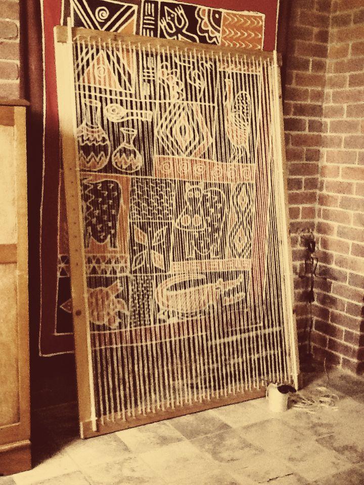 Rag Rug Frame Wooden Dowel Rods
