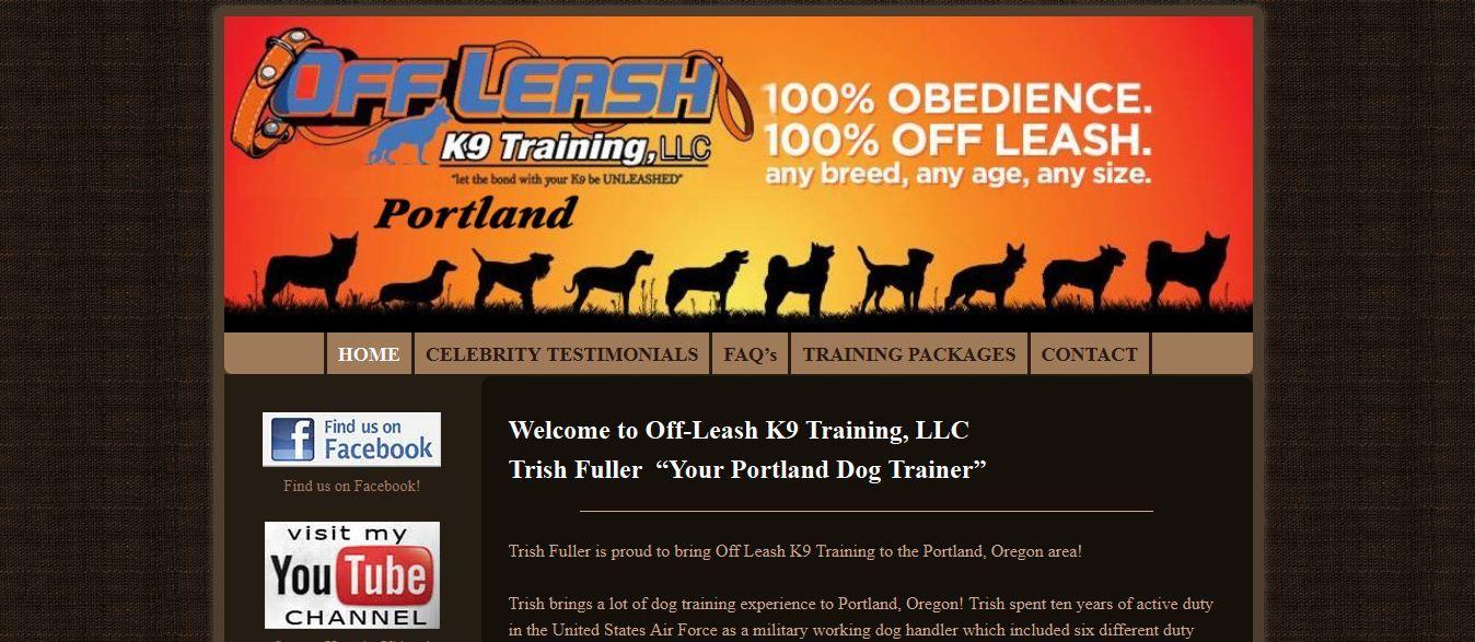 Portland Dog Trainers For Off Leash Training Trish Fuller Oregon