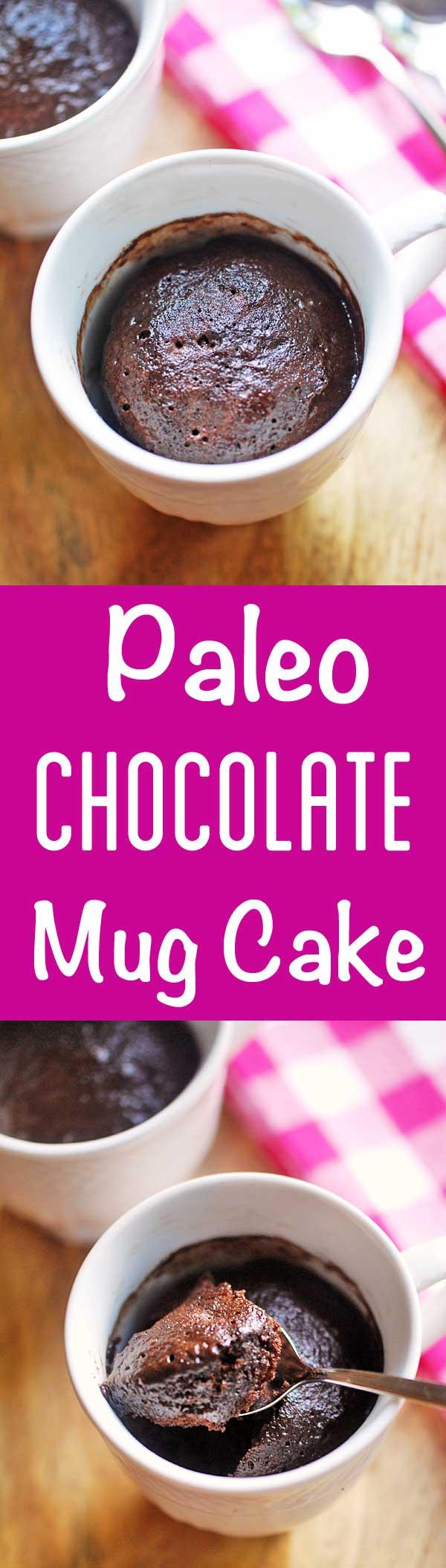 Keto Chocolate Mug Cake | Recipe | Paleo mug cake, Mug ...