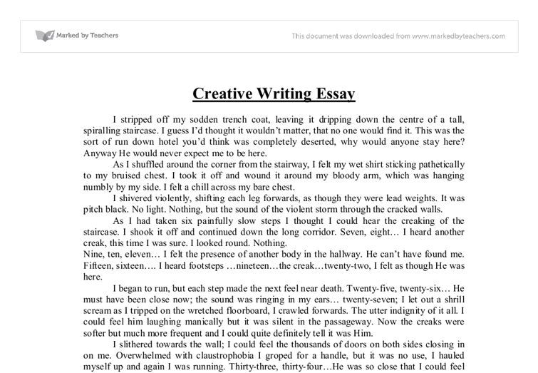 example of creative writing essays - Kendi.charlasmotivacionales.co