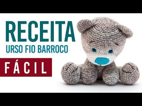 Amigurumi - Urso Soneca - Receita Grátis de Crochê   Amigurumi de ...   360x480