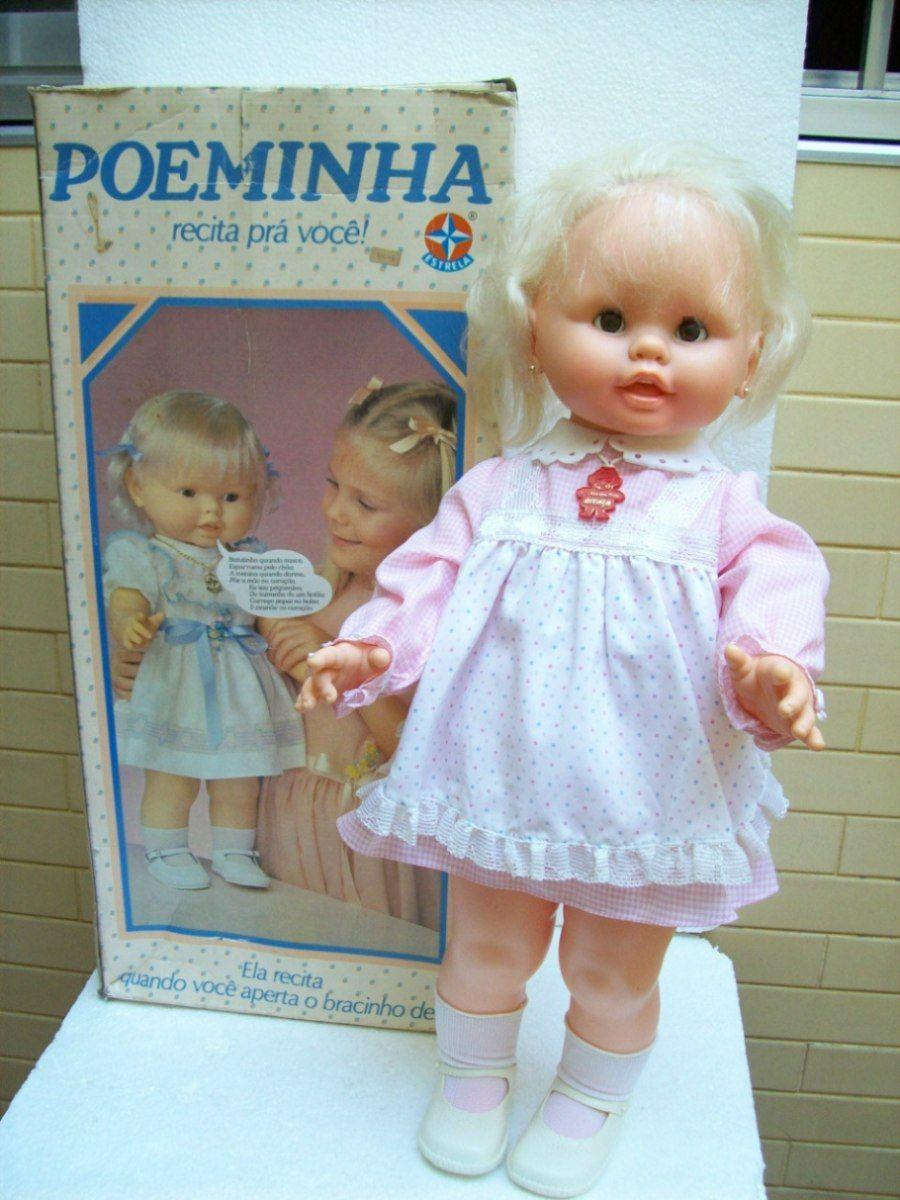 Brinquedo Antigo Estrela Boneca Poeminha Anos 8090 R 189