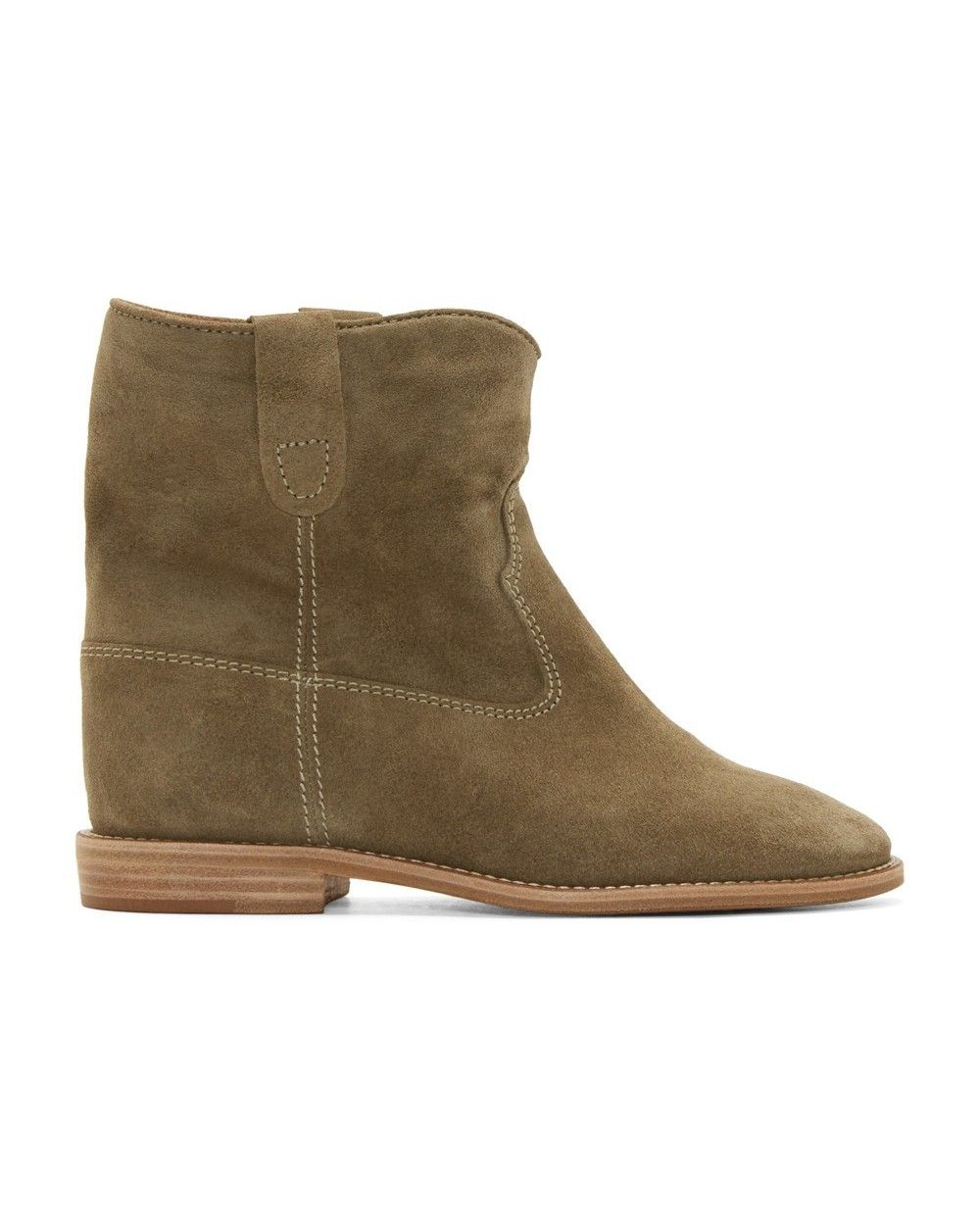 001368a336 Authentic Isabel Marant Etoile Suede Crisi Sneakers Boots Olive Sale Online