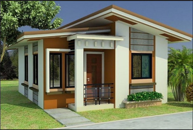 Classic Modern House Design Small House Design Philippines Small House Design Plans Small Modern House Plans