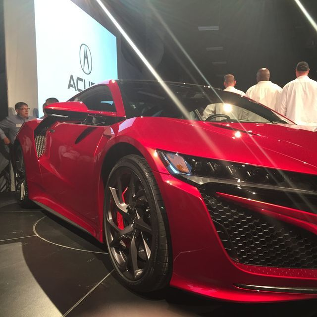 First 2017 Acura NSX Supercar Comes Off Line In Ohio