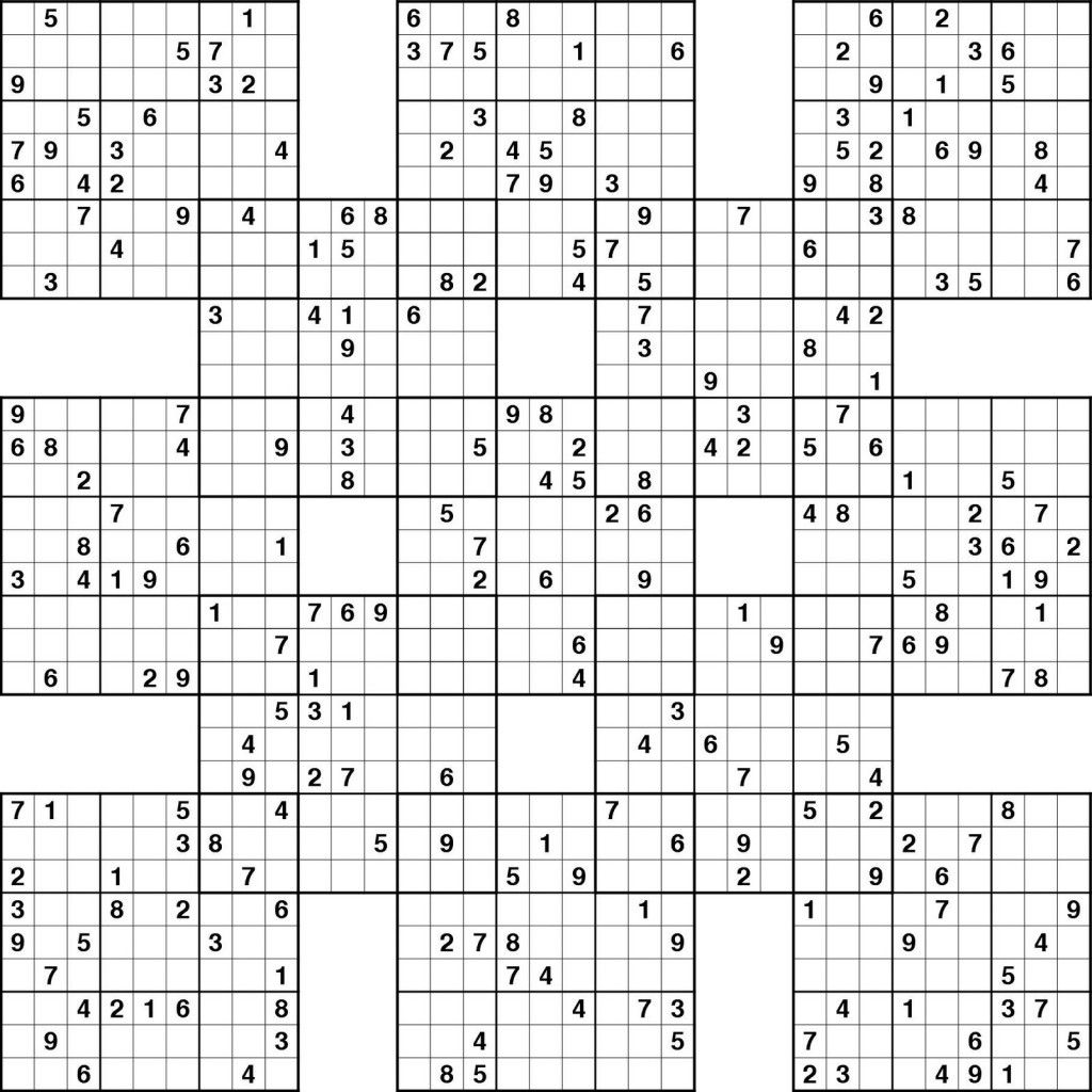 Sudoku High Fives Printable