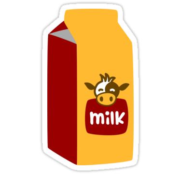 Milk Carton Sticker By 13sparrows Milk Carton Carton Digital Sticker
