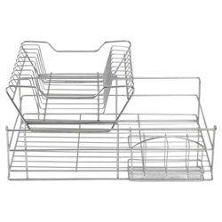 f7e7522cc6b3 Buy Tesco 2 Tier Dish Drainer from our Storage range - Tesco.com ...
