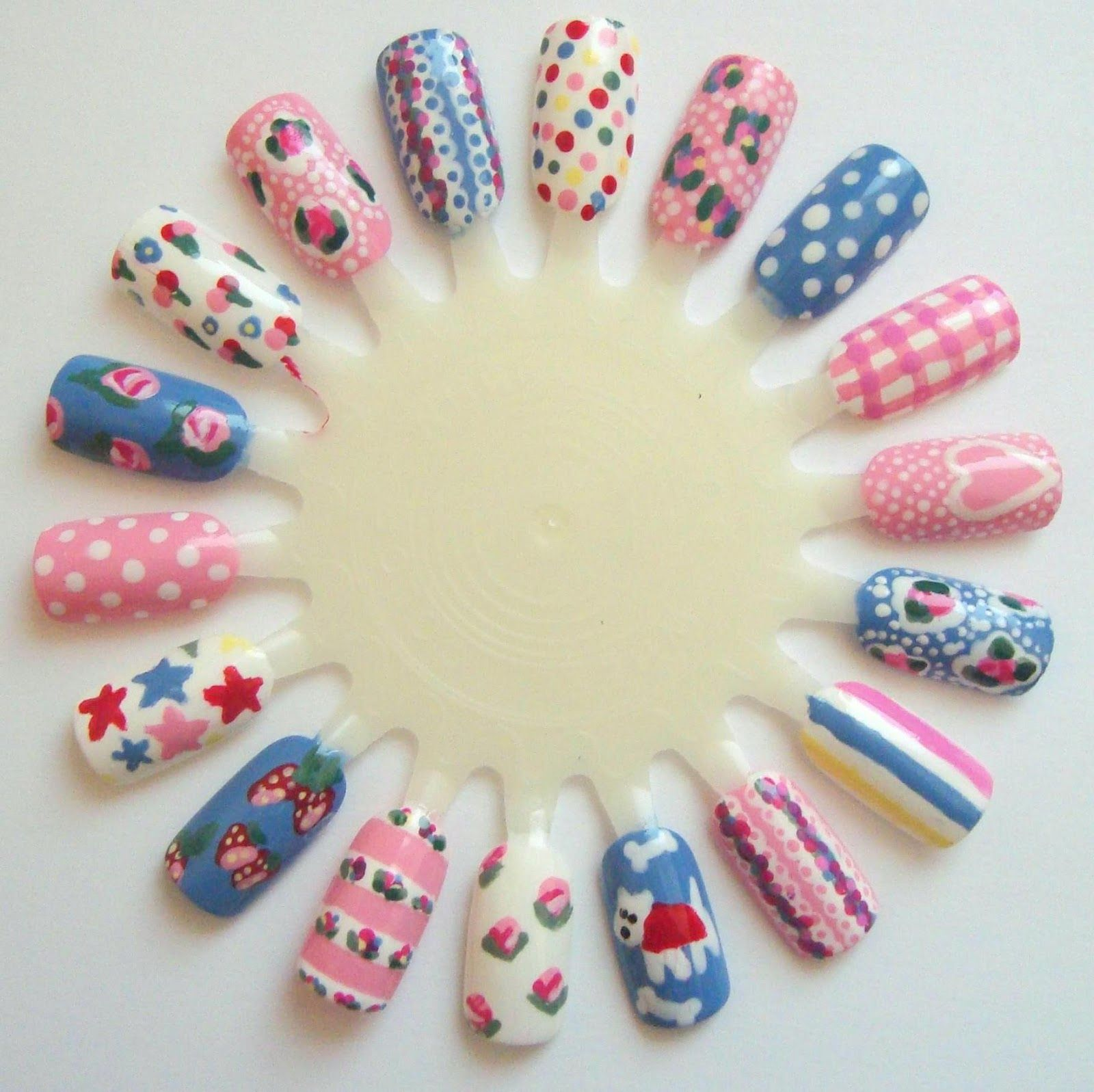 nail art on nail wheels - Google Search | Nails ☆ | Pinterest ...