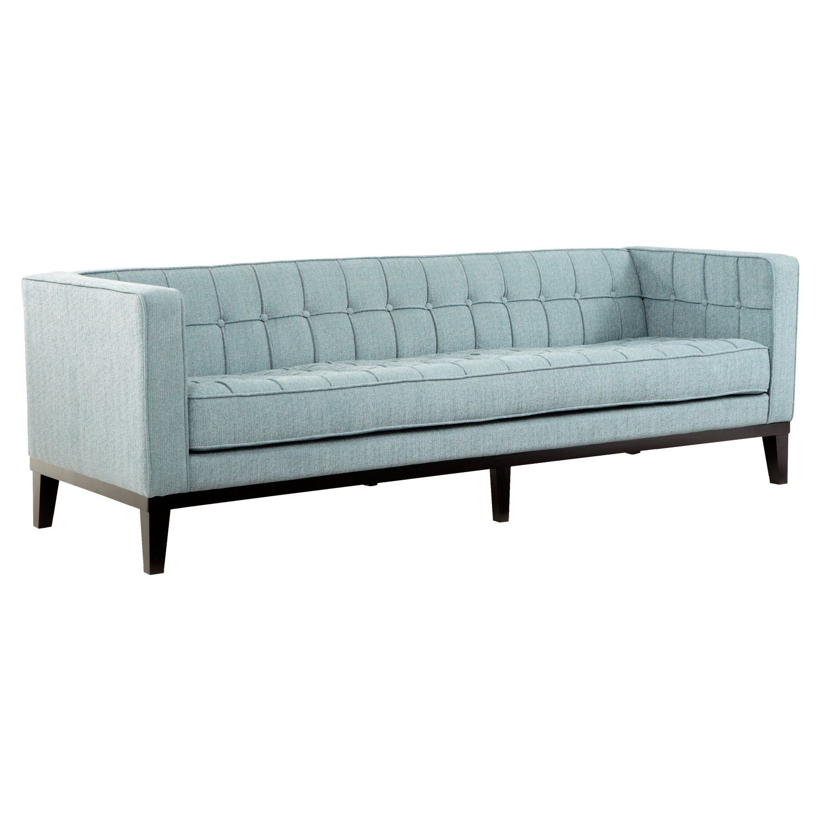 Armen Living Roxbury Sofa Spa Blue in 2019 Sofa, Tufted