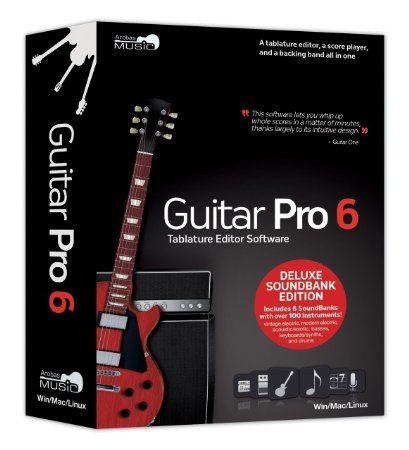 Arobas Music Guitar Pro 6 0 Deluxe Soundbank Edition Software