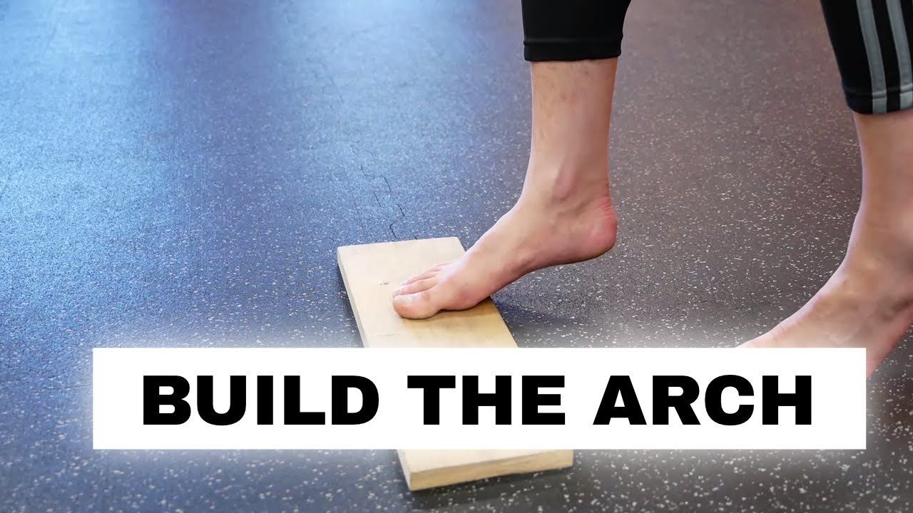 Fix flat feet and fallen arches foot strength exercise