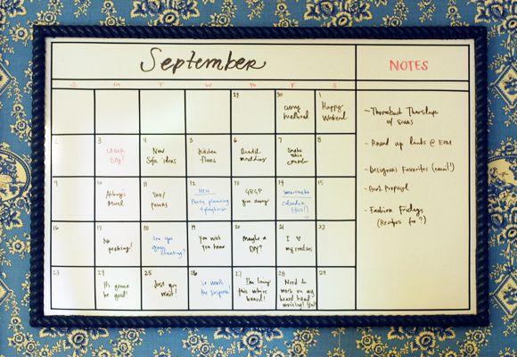 Diy Whiteboard Calendar With Images Diy Whiteboard Whiteboard