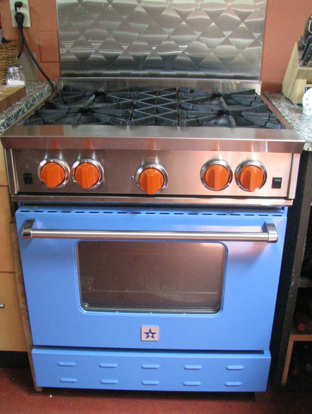 My Escondido Kitchen Kitchen Bluestar Range Blue Star