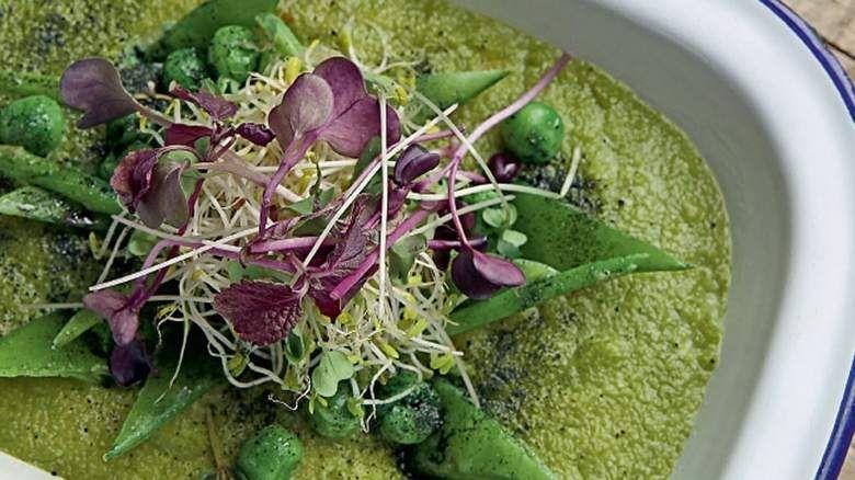 Green Polenta and Comptoir recipes.