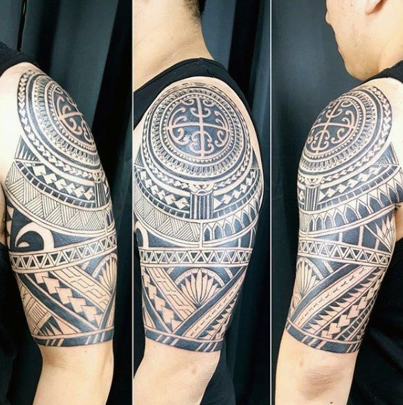 75 Half Sleeve Tribal Tattoos For Men Masculine Design Ideas Half Sleeve Tattoos Designs Half Sleeve Tattoo Half Sleeve Tribal Tattoos