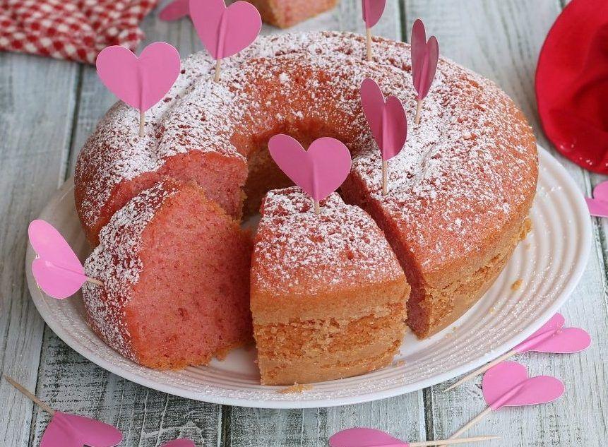 Il ciambellone per San Valentino è una idea semplice e veloce per ...