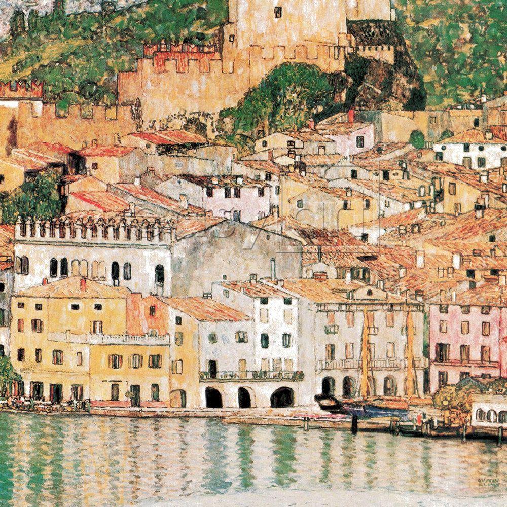 Gustav Klimt Malcesine Italy Art In 2019 My Love I A Fever Longing Still Analysis