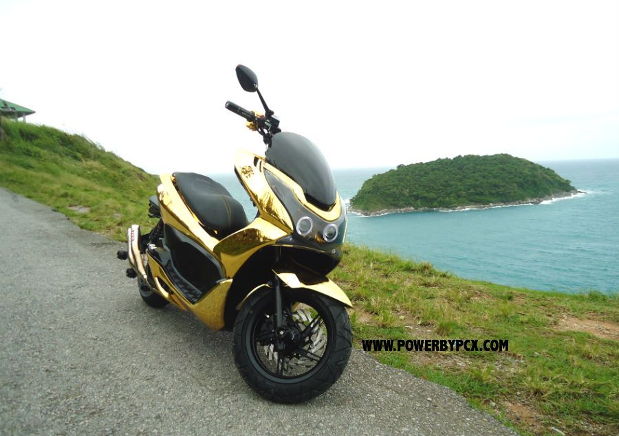 scooter honda pcx 125 powerbypcx option accessoire. Black Bedroom Furniture Sets. Home Design Ideas