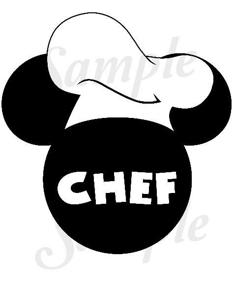 chef mickey coloring pages - photo#35