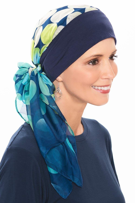 Lanie Pre Tied Scarf Cap | Ready Tie Head Scarves #tieheadscarves Lanie Pre Tied Scarf Cap | Ready Tie Head Scarves #tieheadscarves
