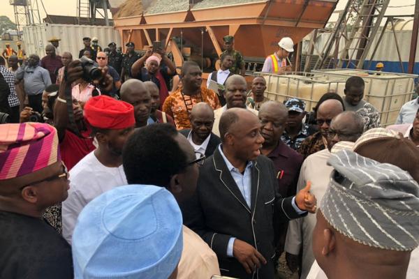 Nigeria's minister of transportation, Rotimi Amaechi has