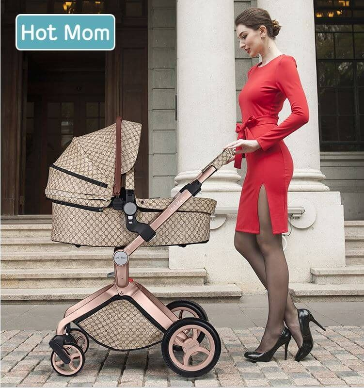 3 in 1 Baby Stroller Carrier with (With images