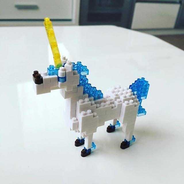 Miniature Collection Unicorn Nanoblock