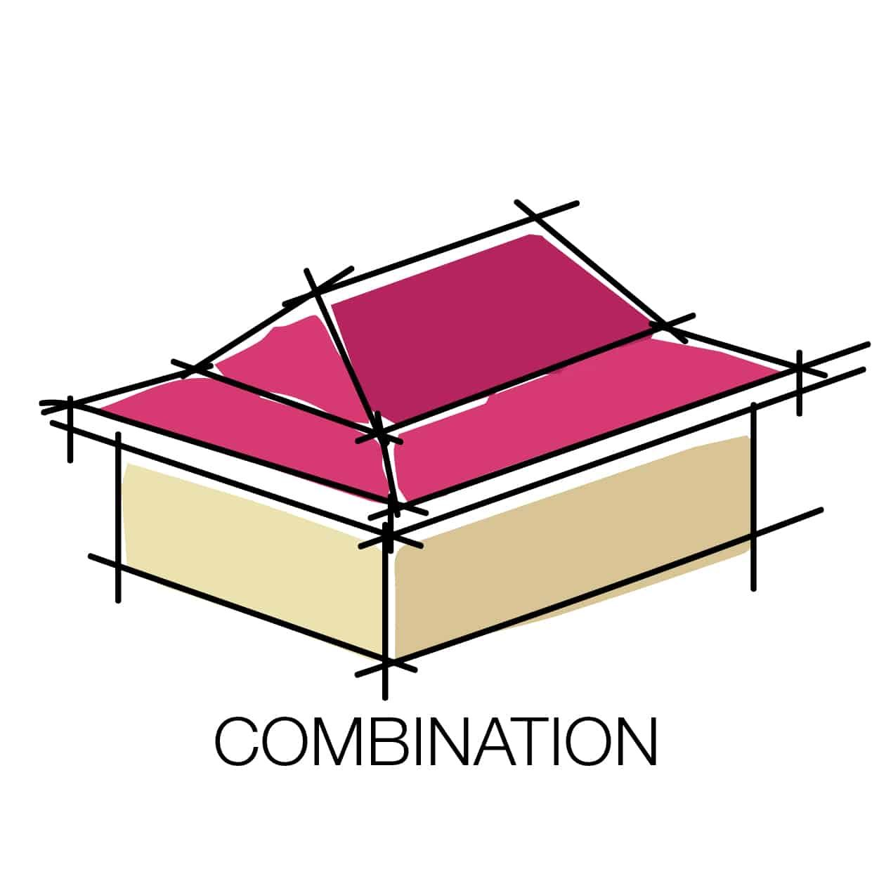 combination hip and gable Google Search Roof styles