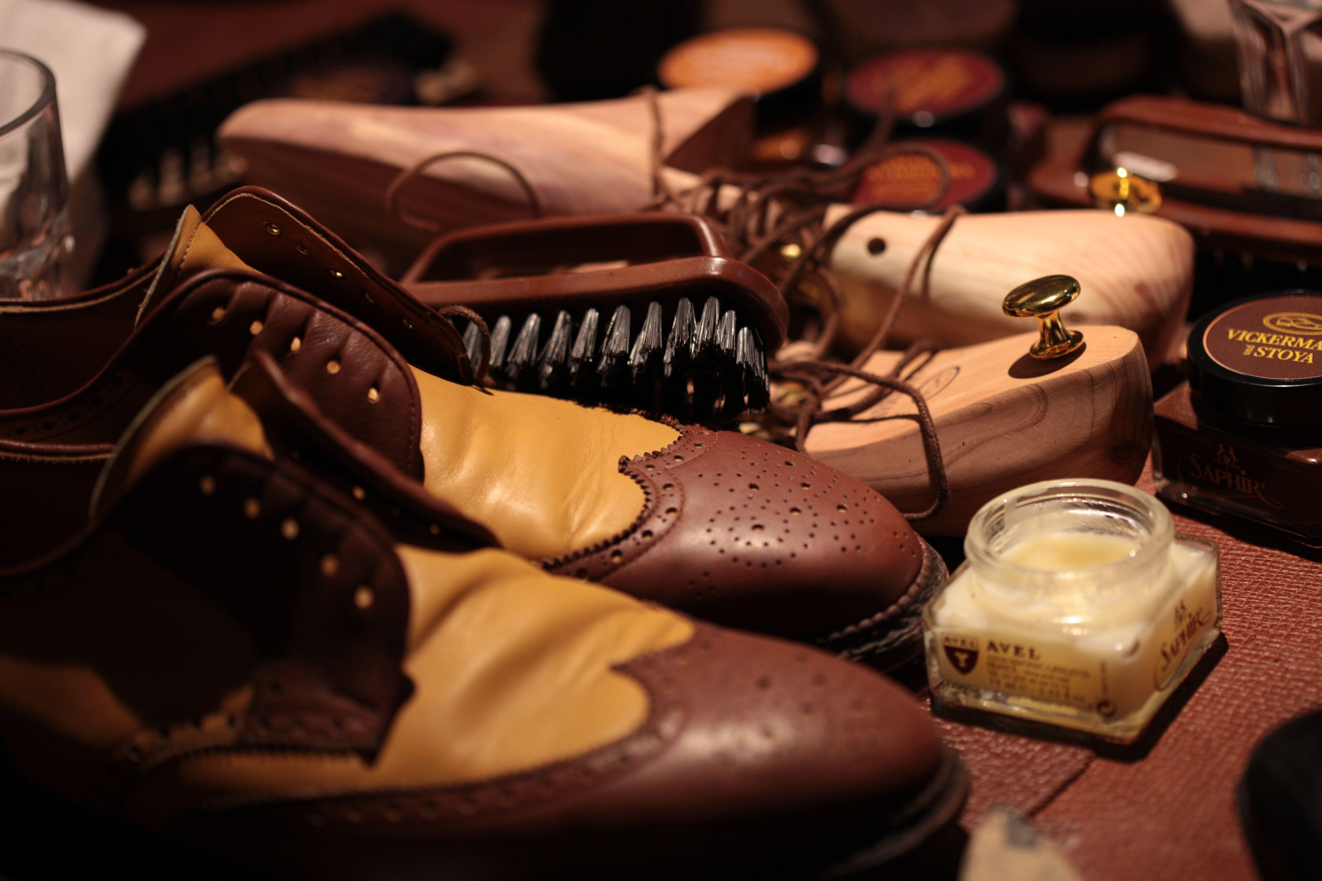 Schuhpflegekurse  |  Vickermann & Stoya Maßschuhe - Schuhmacher, Schuhreparaturen, Schuhmanufaktur