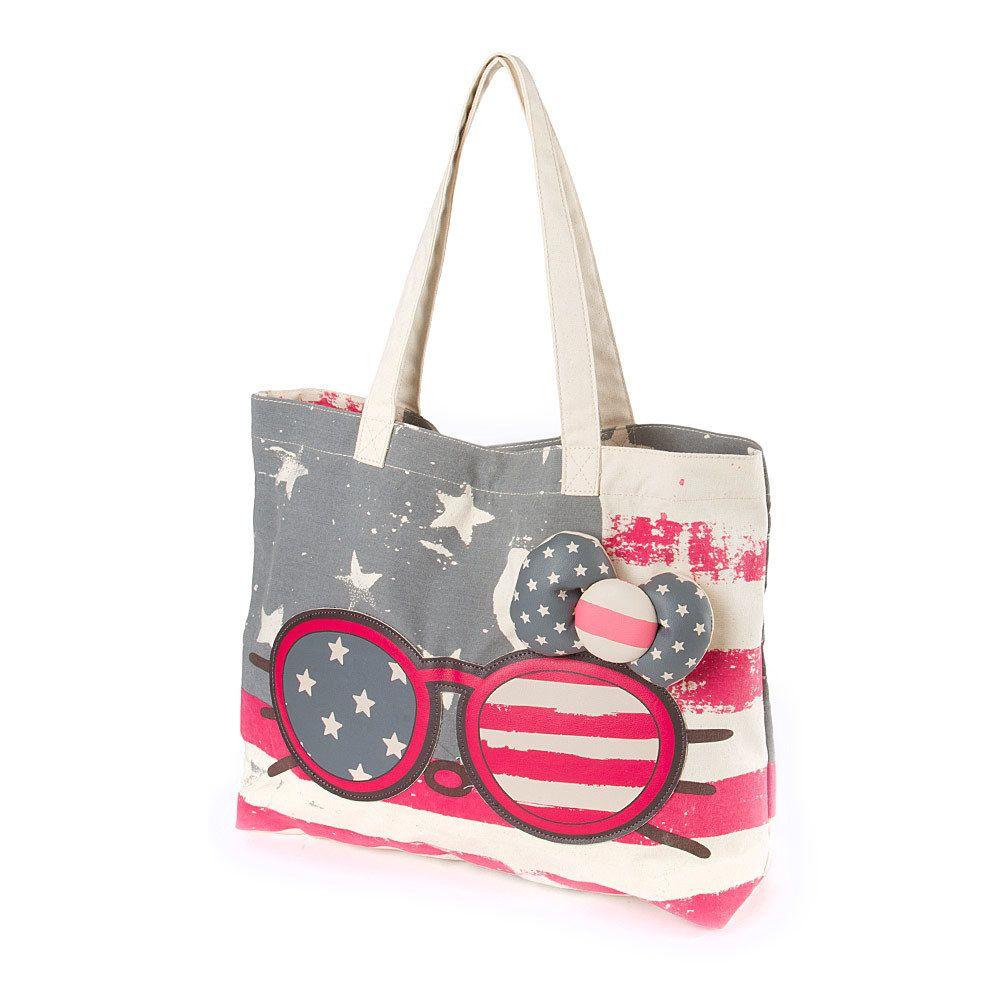 6adfc45ebf0a Hello Kitty Americana Sunglasses Tote Bag