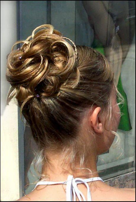 Coiffure mariage pour cheveux mi long Chignon mariage