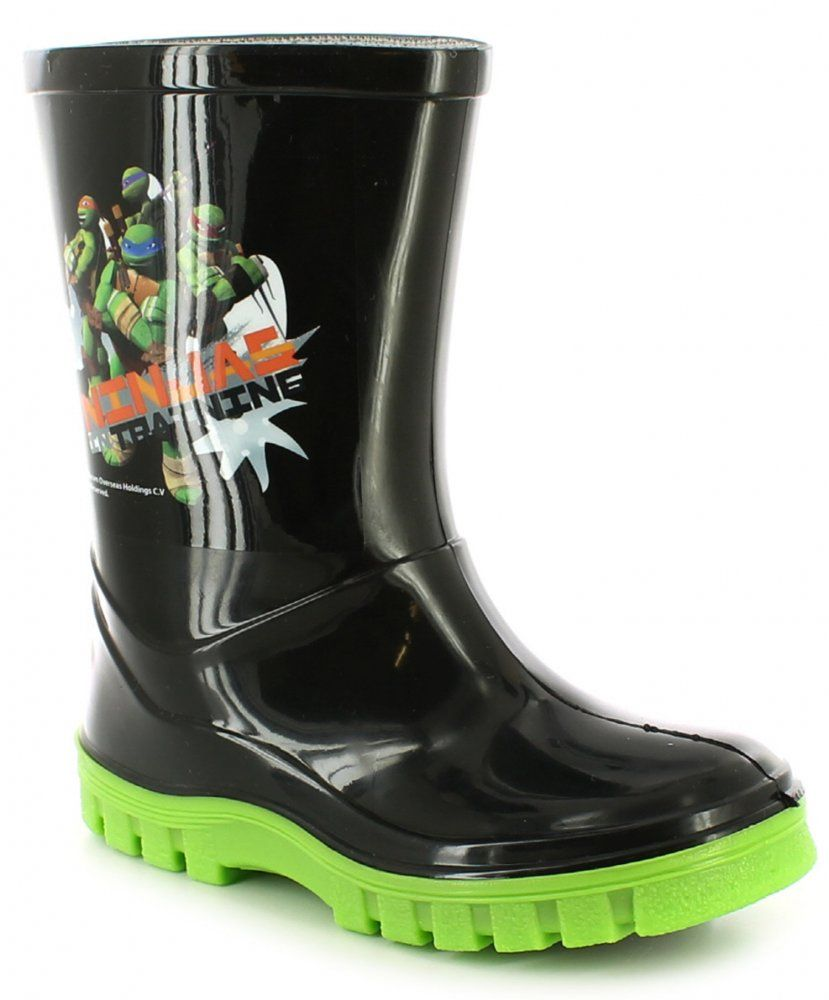 TMNT Wellingtons Boots With Contrast