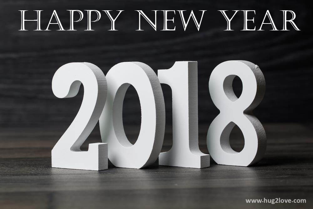 happy new year 2018 desktop wallpapers 3d