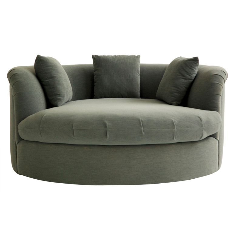 Milo Baughman Sofa/Chaise  sc 1 st  Pinterest : circular chaise lounge - Sectionals, Sofas & Couches