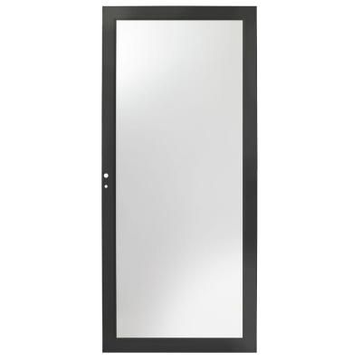 Andersen 36 in. x 80 in. 3000 Series Black Fullview Easy Install Storm Door-H3FEL36BL - The Home Depot