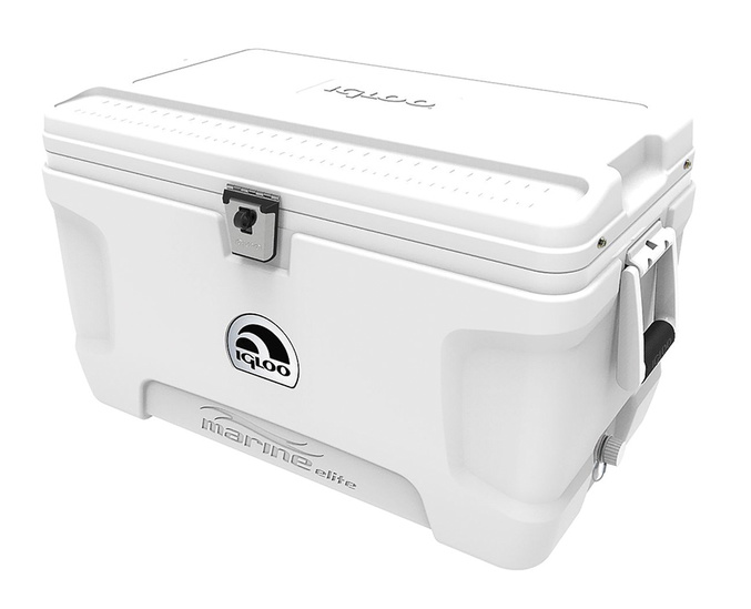 The affordable but high end, IGLOO Marine Elite Deluxe Cooler, 72Qt. is on sale at West Marine right now! Pick one up and hit the campground, high seas or just the park!