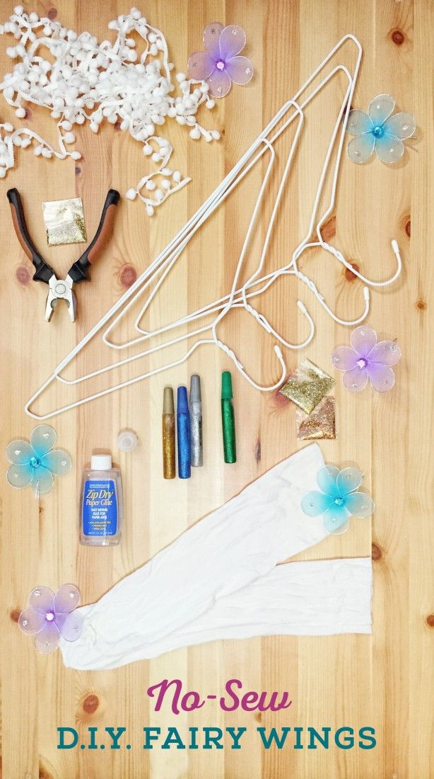 How to make gorgeous fairy wings for your little ones  No