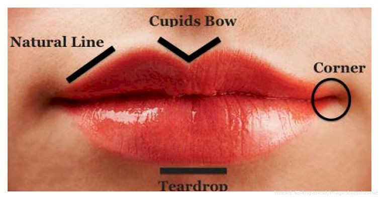 How you analyze your friends based on their lip shape! | From trendyimageobsession