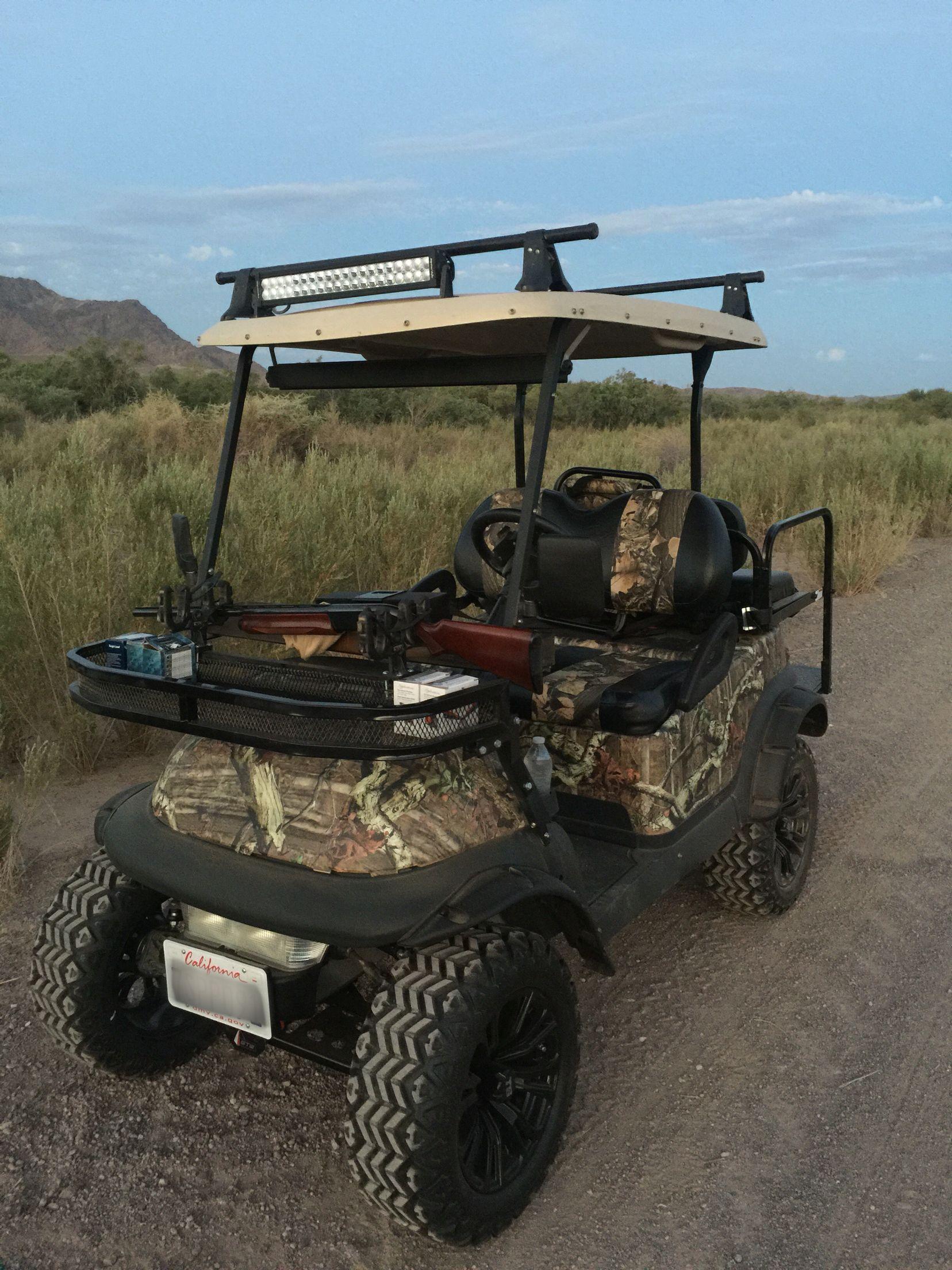 Custom golf cart club car precedent off road camo realtree