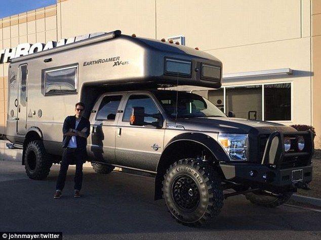 John Mayer Buys 500 000 Custom Built Off Road Motor Home