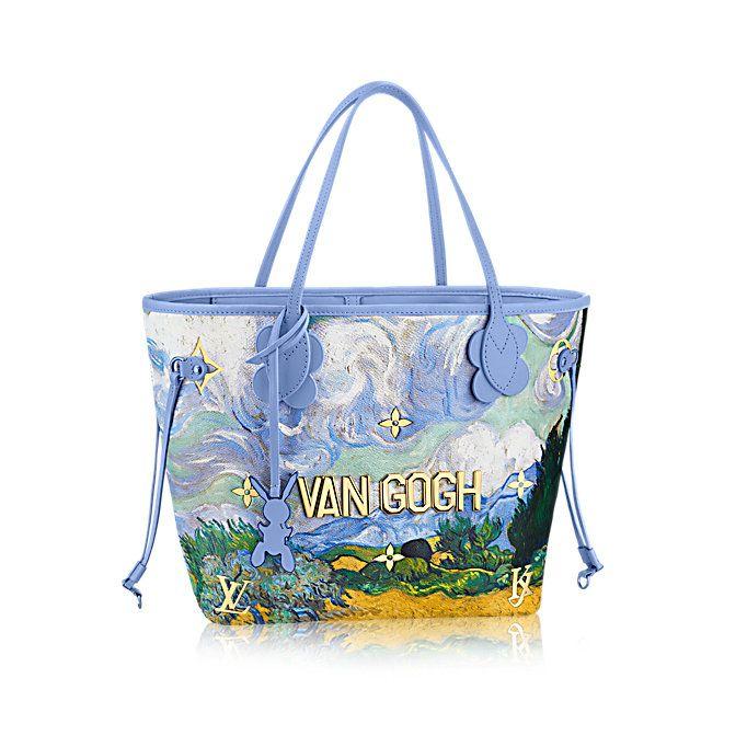 b820ad66afcb Jeff Koons s Van Gogh bag for Louis Vuitton. Image courtesy Louis Vuitton.