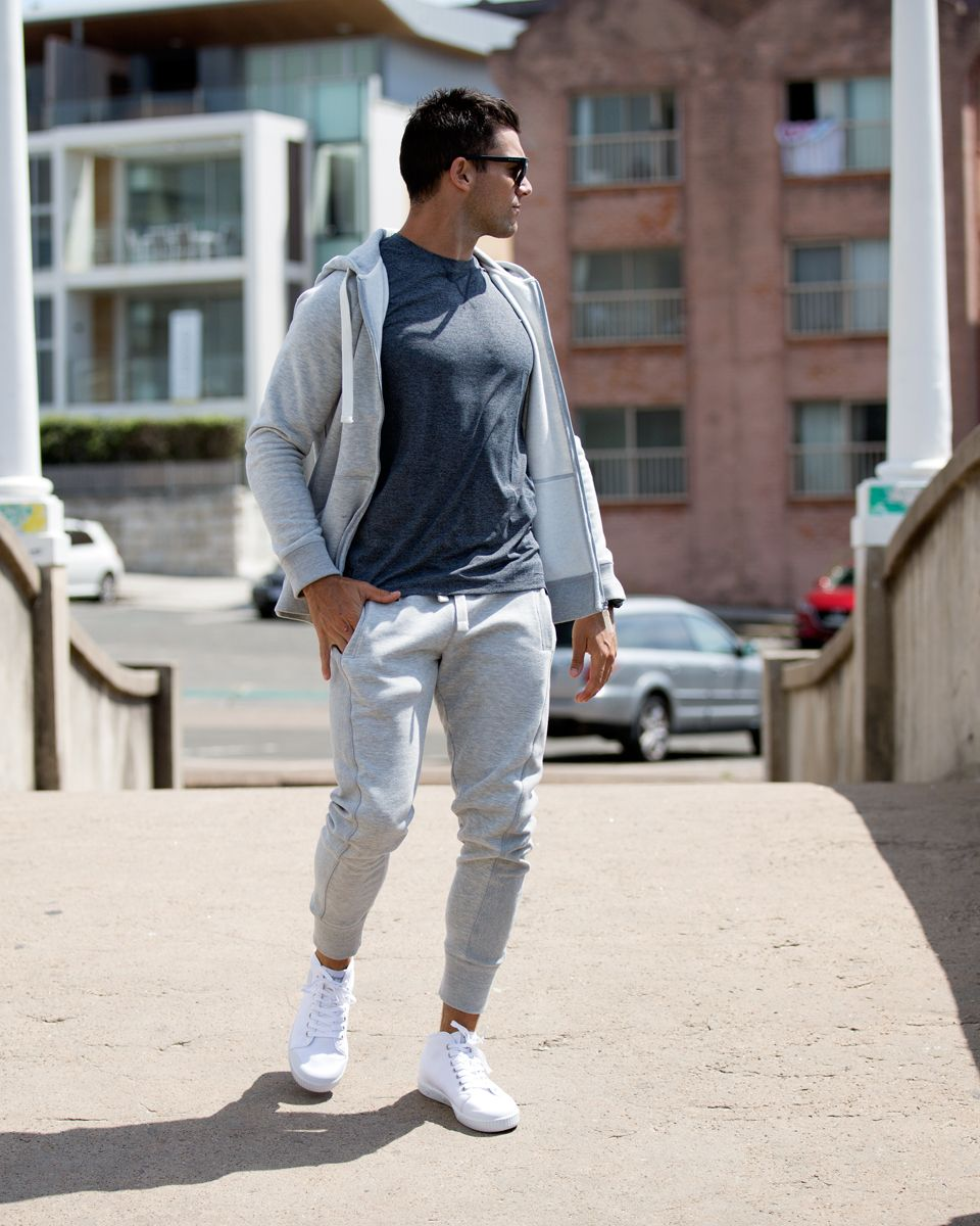 Get up, gear up and never give up Fleece pants, Mens