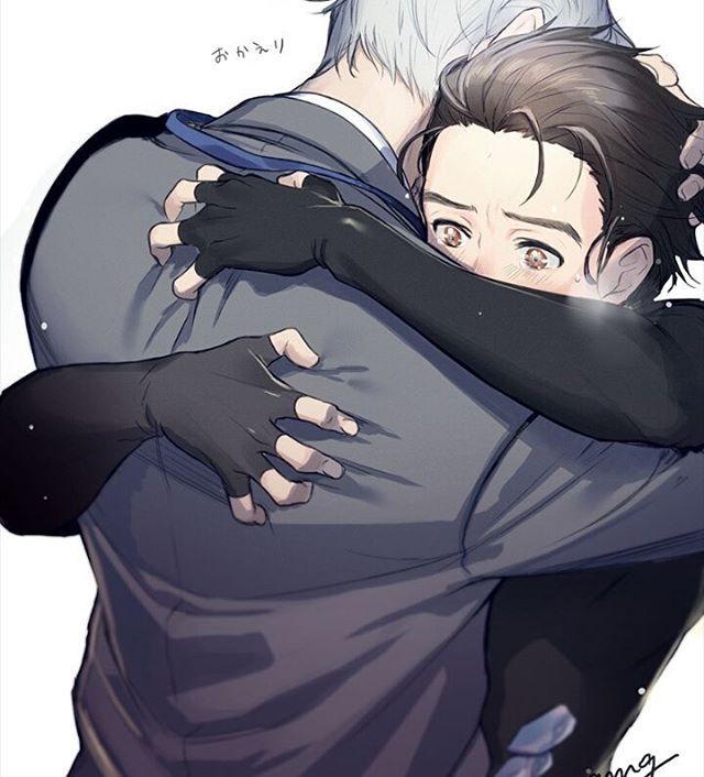 Este tipo de abrazos son lo más    Yuri on Ice   Viktor Nikiforov&Yuri Katsuki